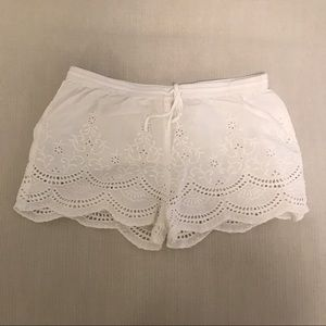 Urban Outfitters eyelet shorts